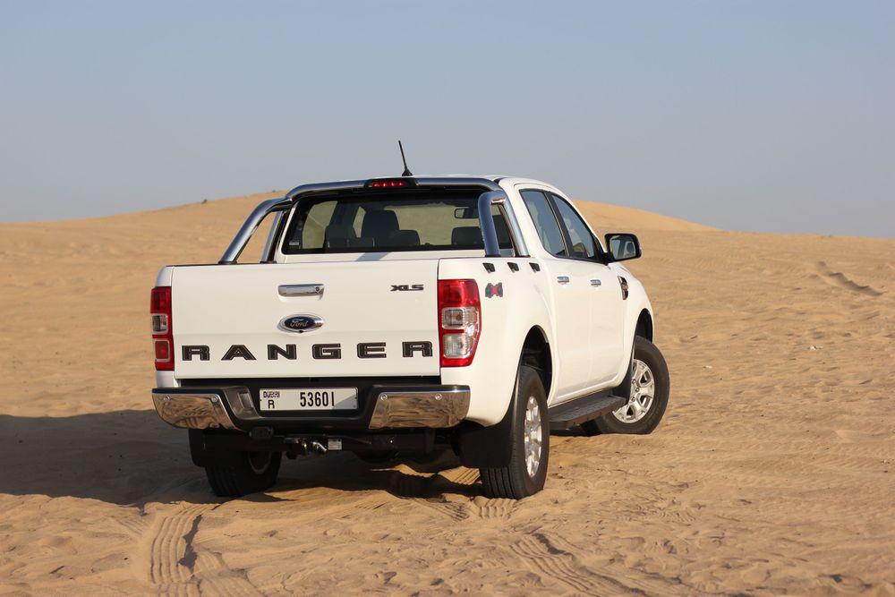 Ford Ranger Back