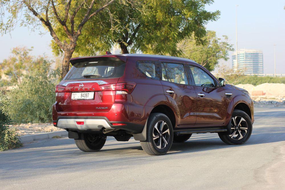 Nissan X-TERRA Back