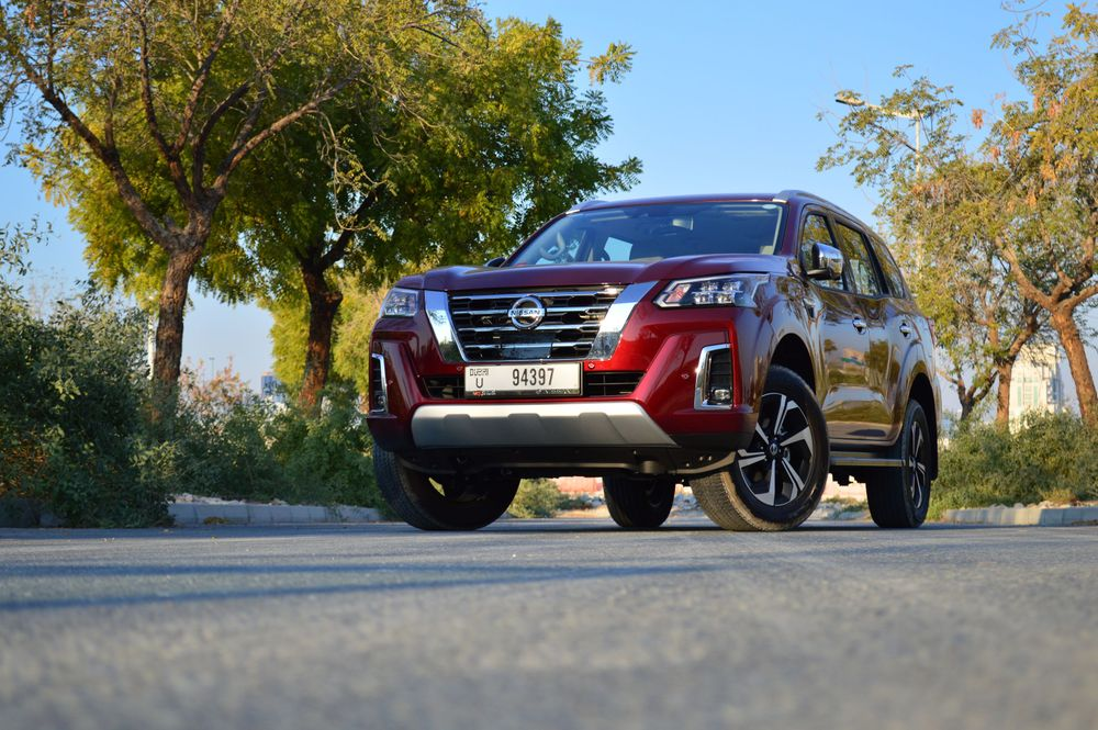 Nissan X-TERRA Front