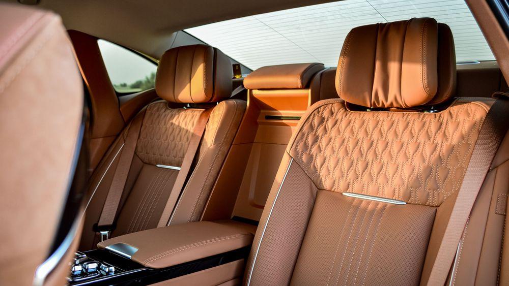Hongqi H9 Back seats