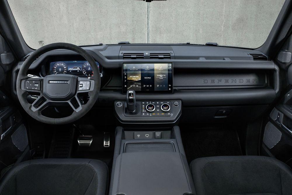 Defender V8 Interior