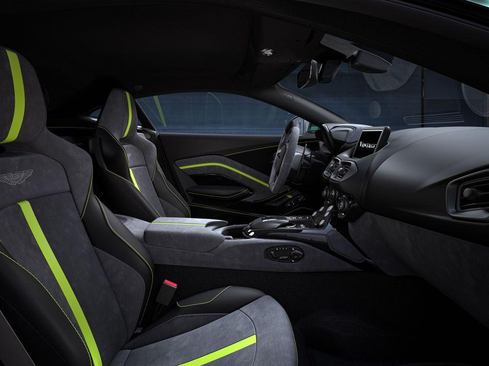 Vantage F1 Edition interior