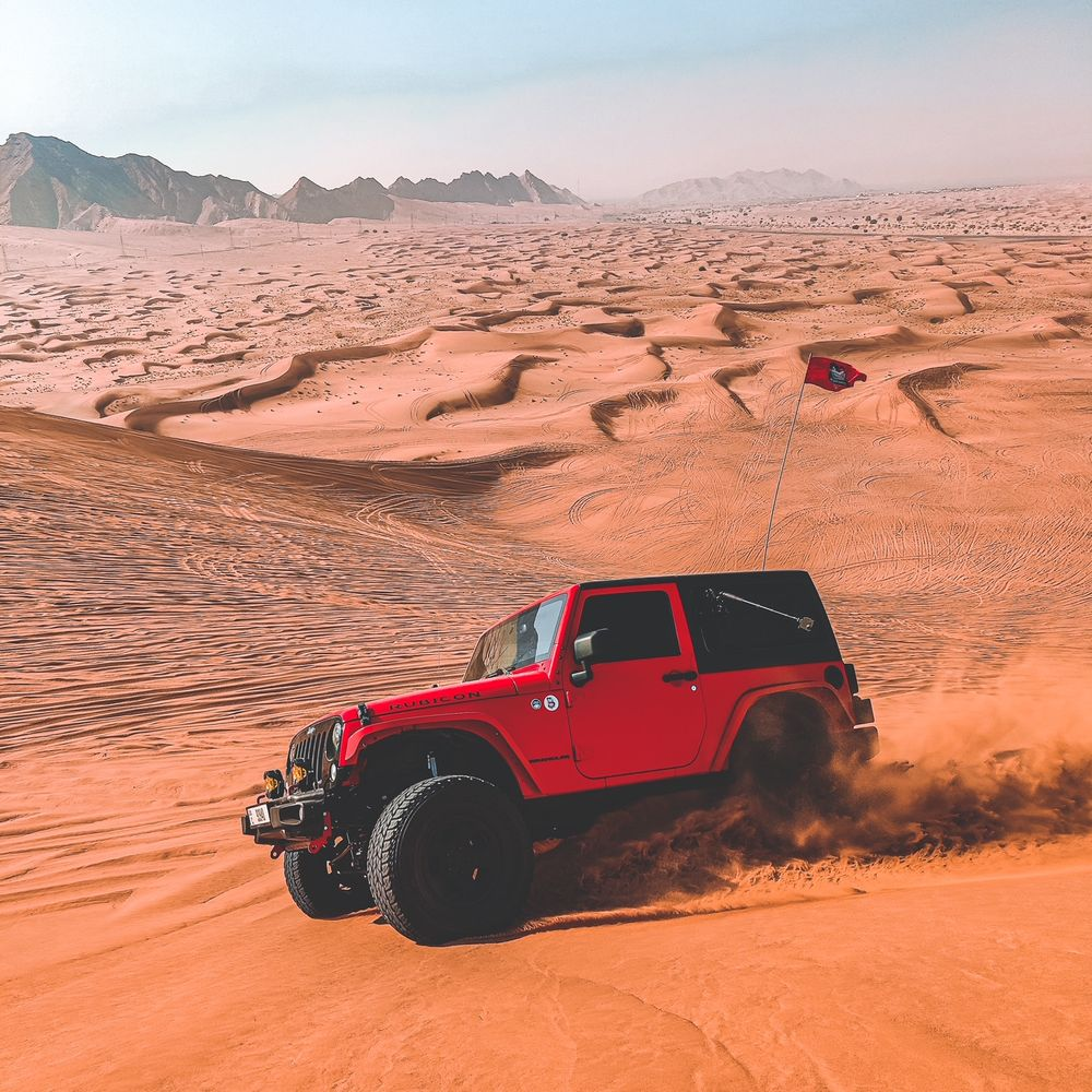 Jeep Wrangler Zahran Khan