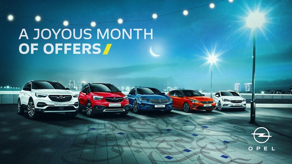Opel Ramadan Offers