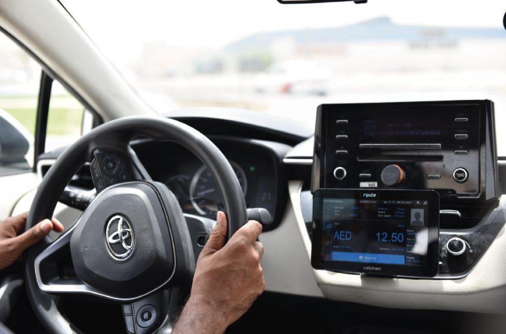 Smart Taxi meters Ajman