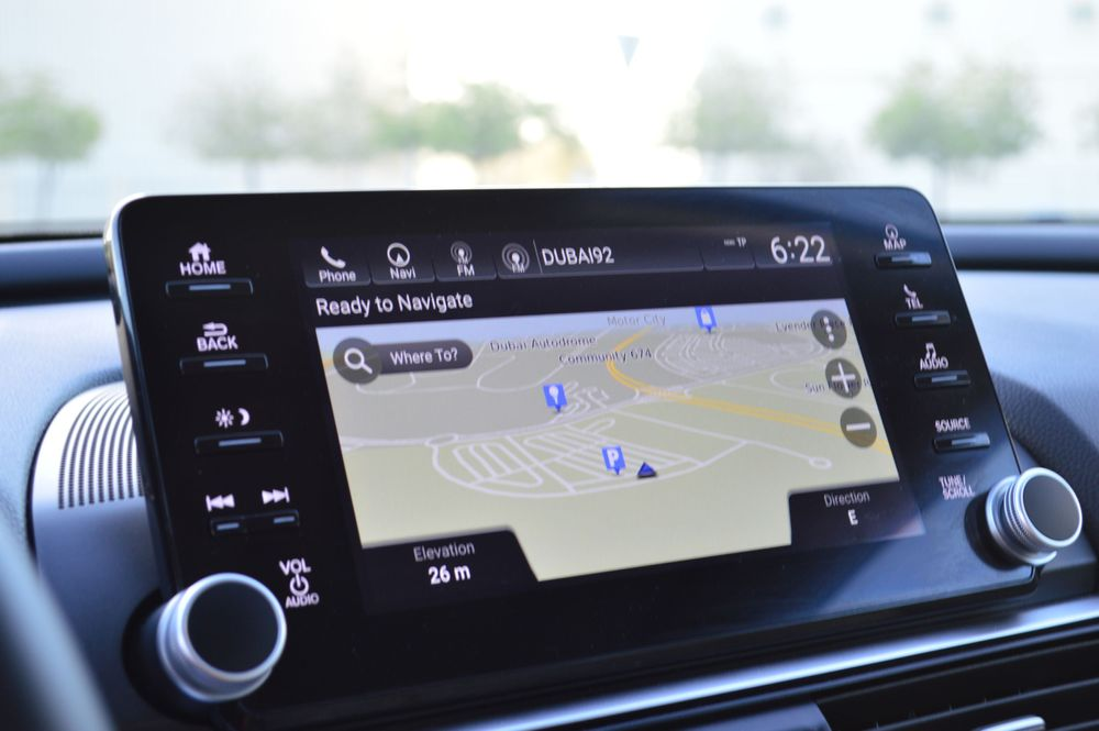 Honda Accord Infotainment Screen