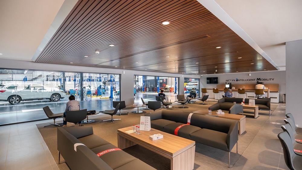 Nissan Servcie Center Dubai