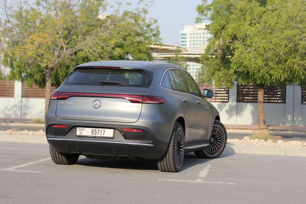 Mercedes Benz EQC Back