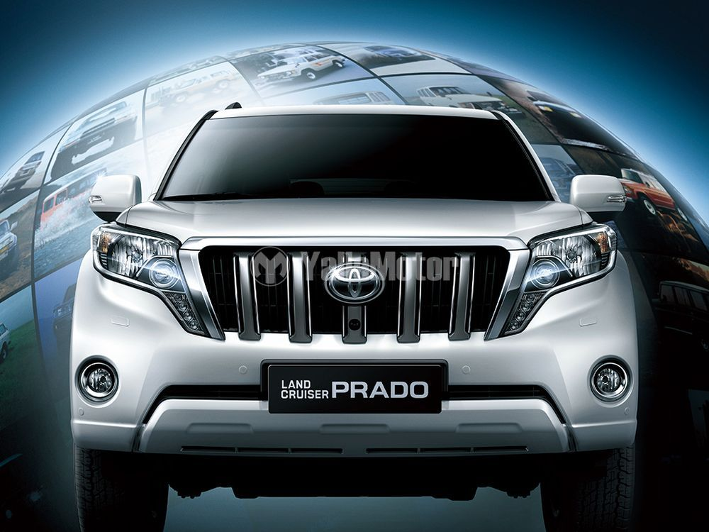 Toyota Land Cruiser Prado 2014, United Arab Emirates