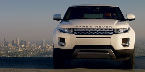 Land Rover Range Rover Evoque 2014, Qatar