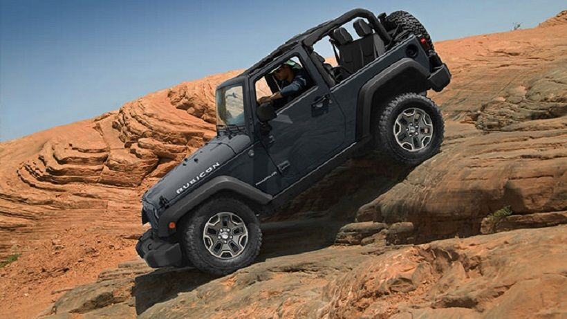 Jeep Wrangler 2014, United Arab Emirates