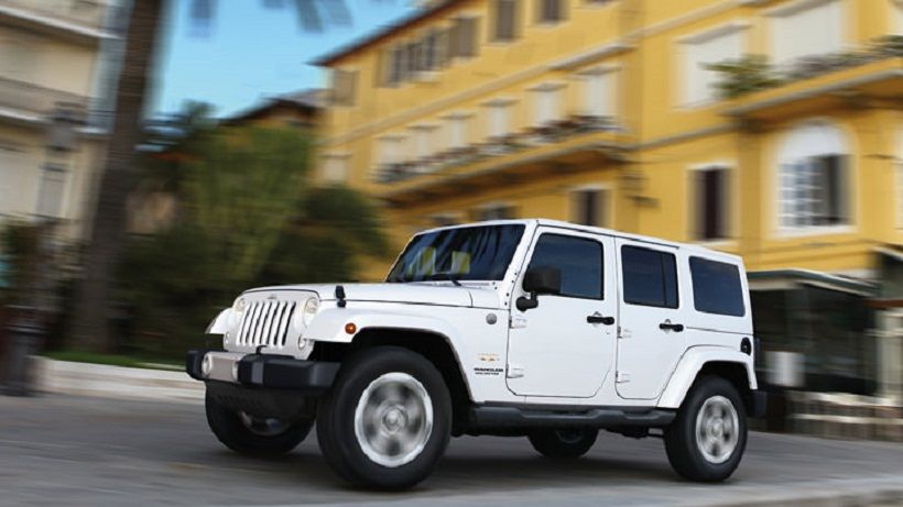 Jeep Wrangler Unlimited 2014, Bahrain