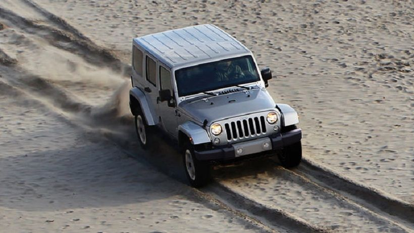 Jeep Wrangler Unlimited 2014, Kuwait