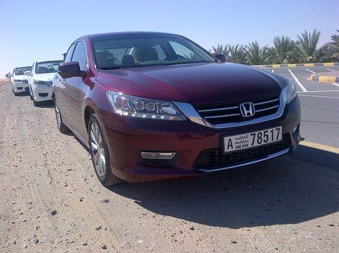 Honda Accord 2014, Qatar