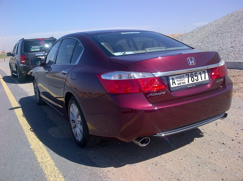 Honda Accord 2014, United Arab Emirates