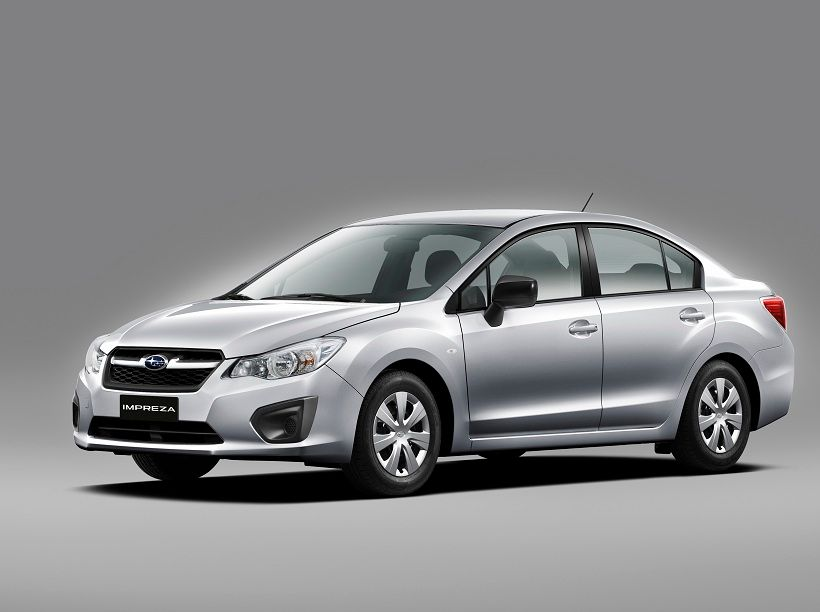Subaru Impreza 2014, United Arab Emirates