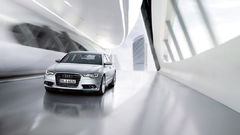 Audi A6 2014, Kuwait
