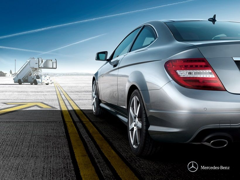 Mercedes-Benz C-Class Coupe 2014, Saudi Arabia