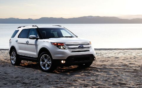 Ford Explorer 2012, Kuwait