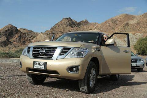 Nissan Patrol 2014, Kuwait
