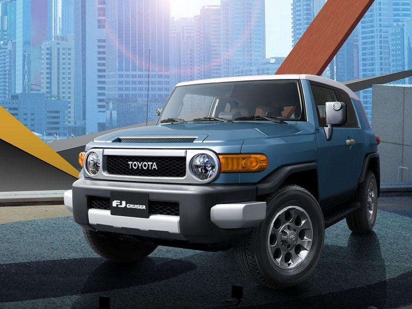 Toyota FJ Cruiser 2014, Kuwait