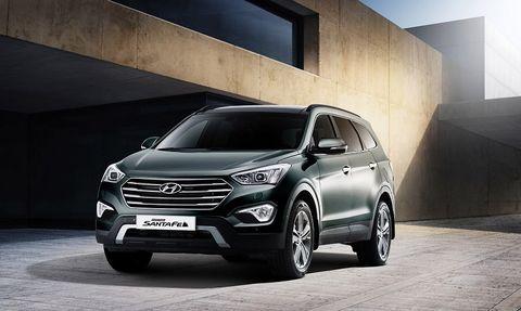 Hyundai Grand Santa Fe 2014, Kuwait