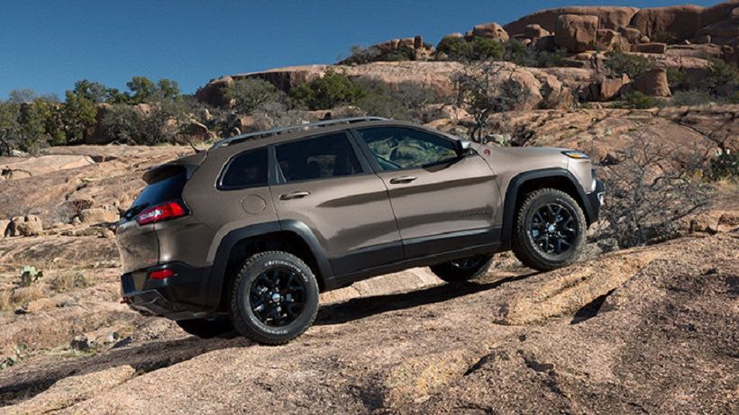 Jeep Cherokee 2014, United Arab Emirates