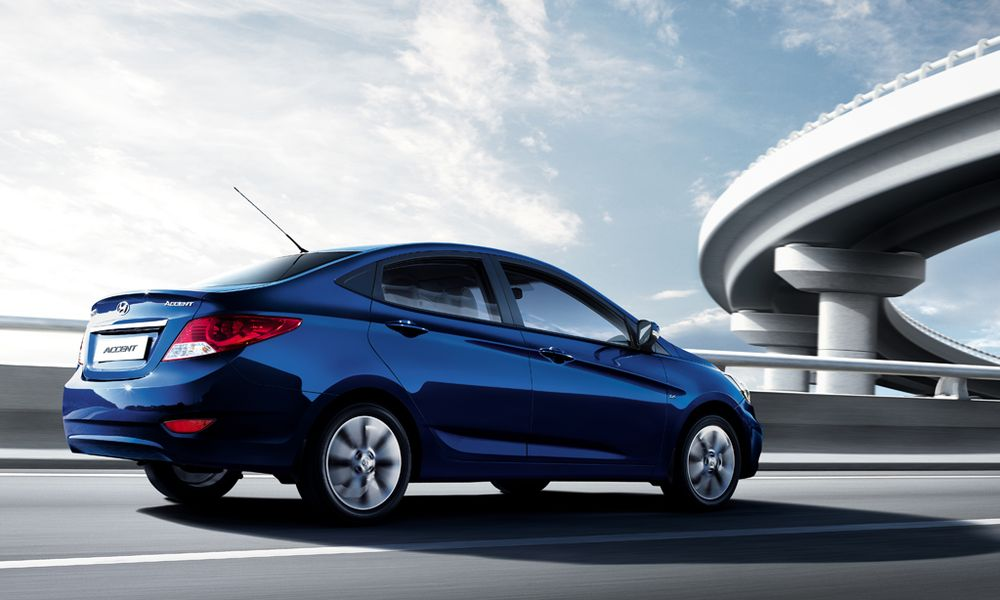 Hyundai Accent 2012, Oman