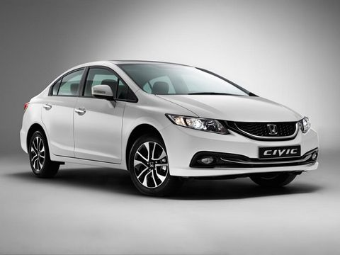 Honda Civic 2015, United Arab Emirates