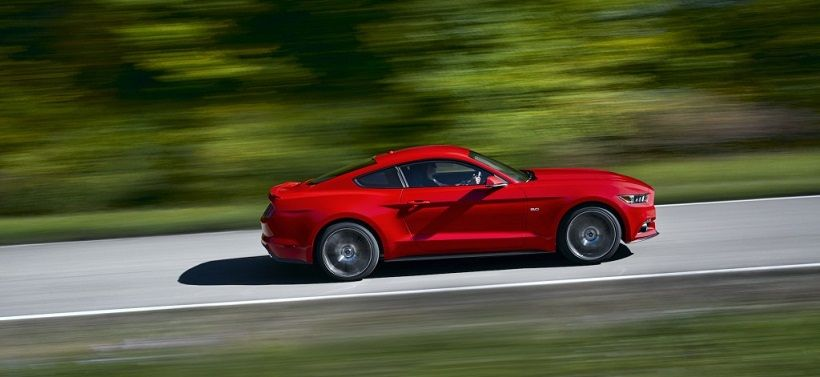 Ford Mustang 2015, United Arab Emirates