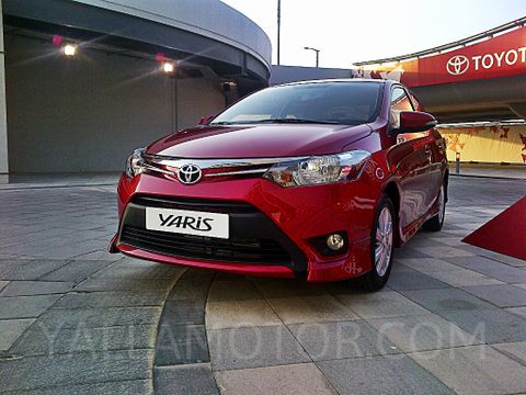 Toyota Yaris Sedan 2015, United Arab Emirates