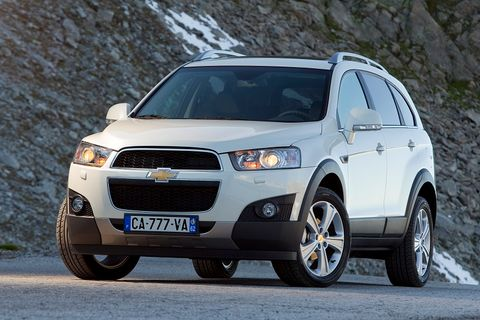 Chevrolet Captiva Price In Kuwait New Chevrolet Captiva Photos And Specs Yallamotor