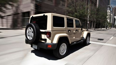 Jeep Wrangler Unlimited 2012, Kuwait