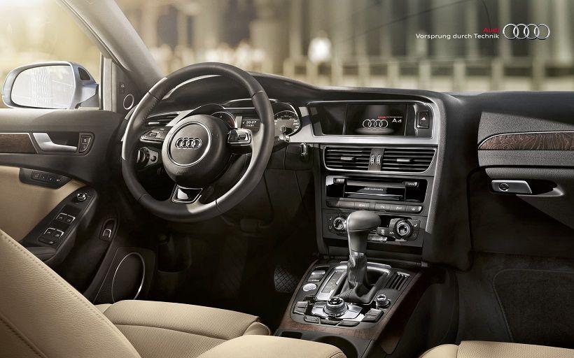 Audi A4 2015, United Arab Emirates