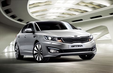 Kia Optima 2012, Oman