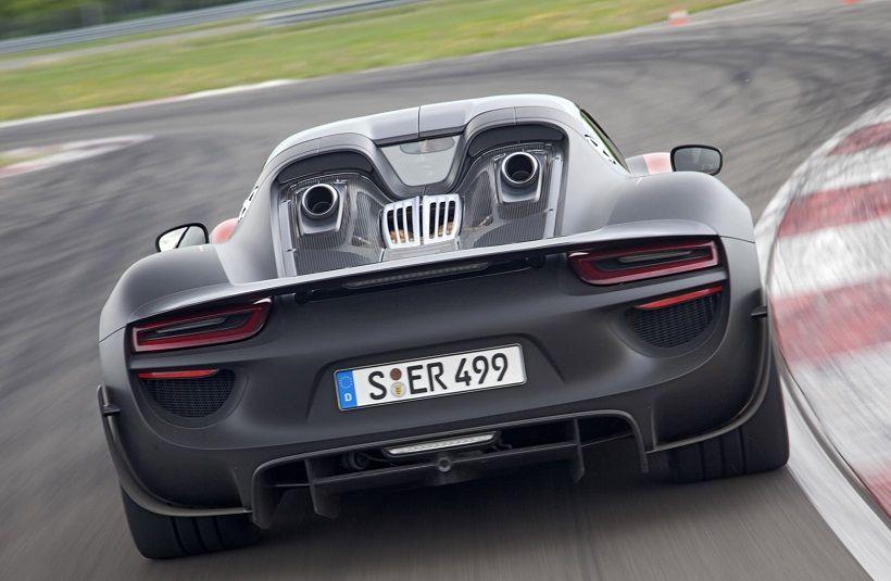 Porsche 918 Spyder 2015, Kuwait