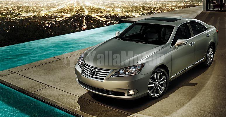 Lexus ES 350 2012, Saudi Arabia