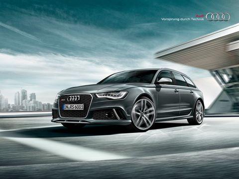 Audi RS6 Avant 2015, Kuwait