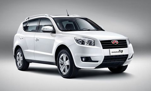 Geely Emgrand X7 Price In Oman New Geely Emgrand X7 Photos And