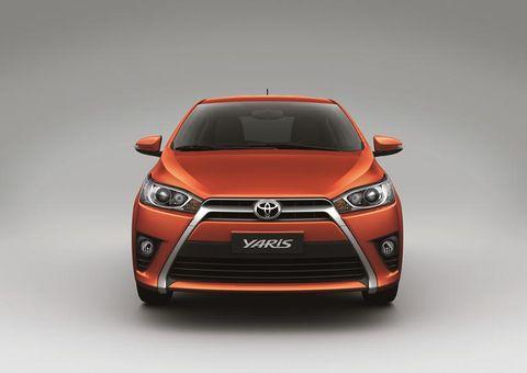 Toyota yaris fuel tank capacity