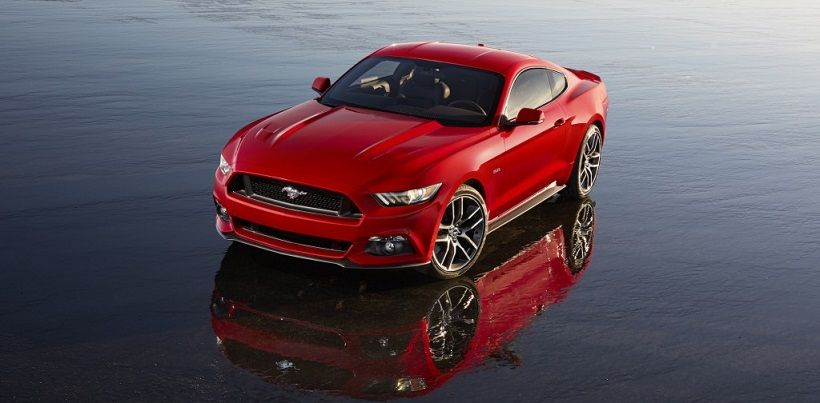 Ford Mustang 2016, United Arab Emirates