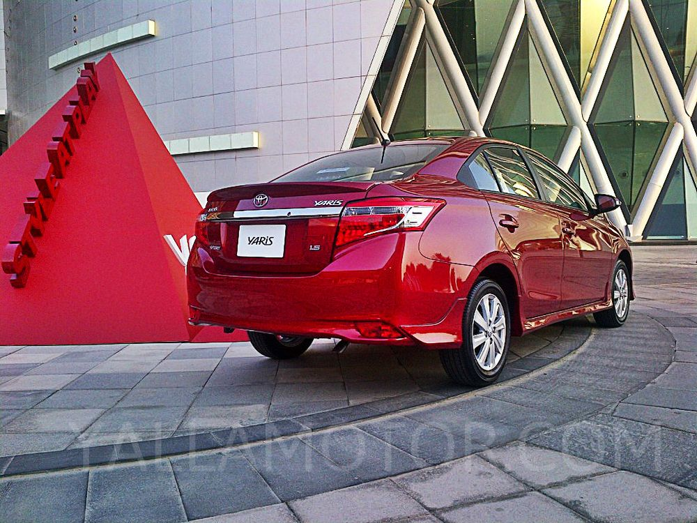 Toyota Yaris Sedan 2016, Kuwait