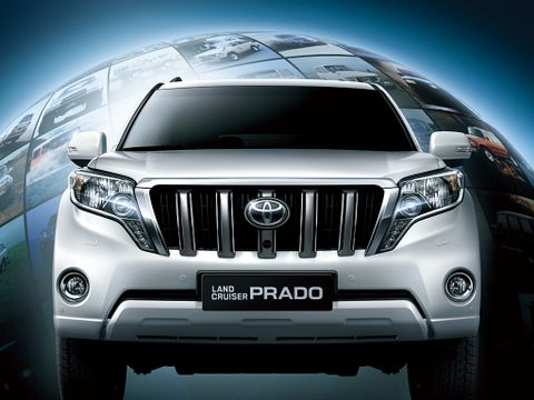 Toyota Land Cruiser Prado 2016, Kuwait