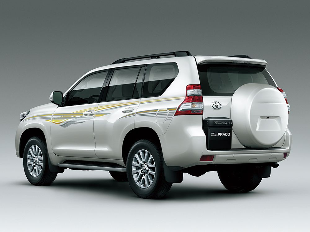 Toyota Land Cruiser Prado 2016, Qatar