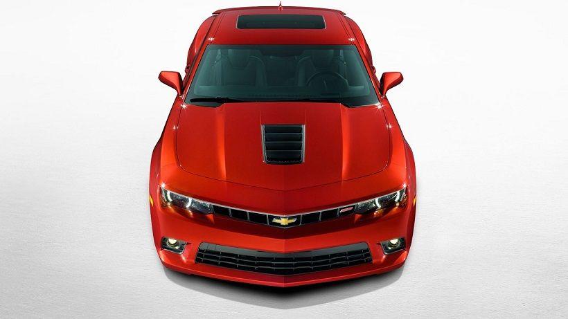 Chevrolet Camaro Coupe 2016, United Arab Emirates