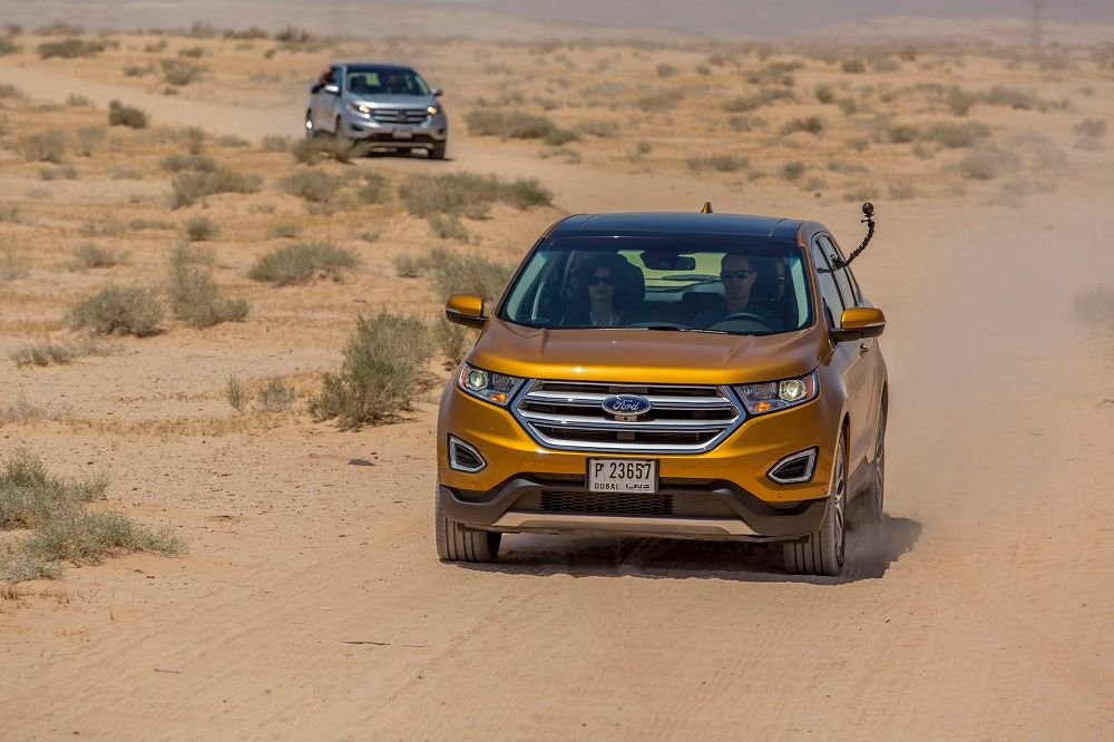 Ford Edge 2016, Saudi Arabia
