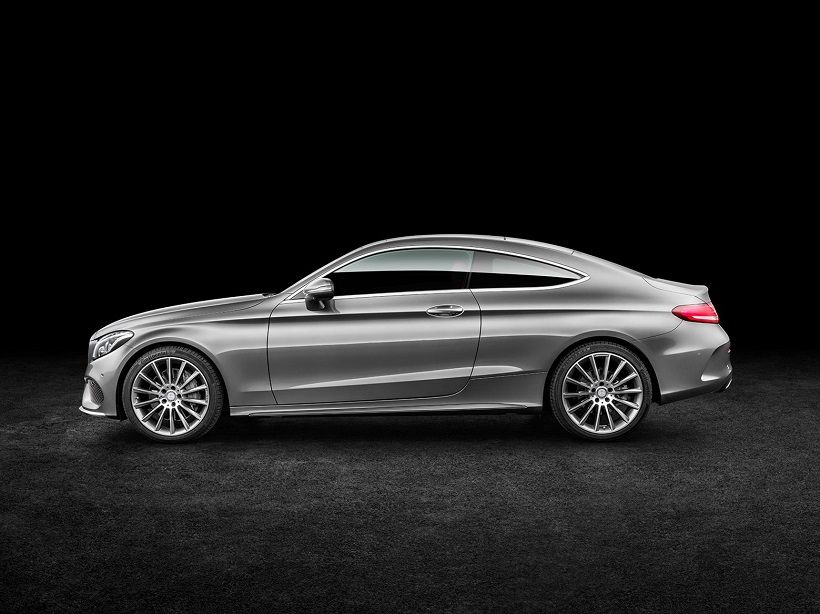 Mercedes-Benz C-Class Coupe 2016, United Arab Emirates
