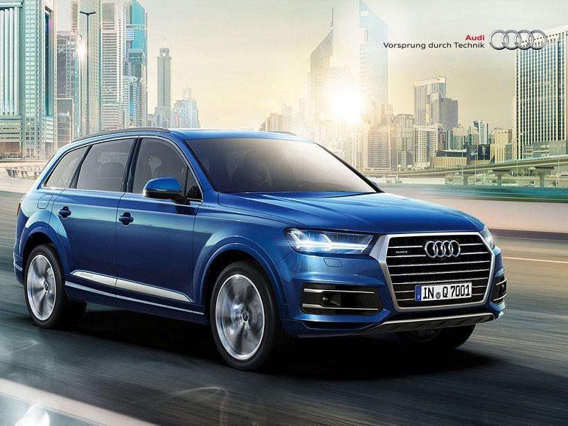 Audi Q7 2016, Kuwait