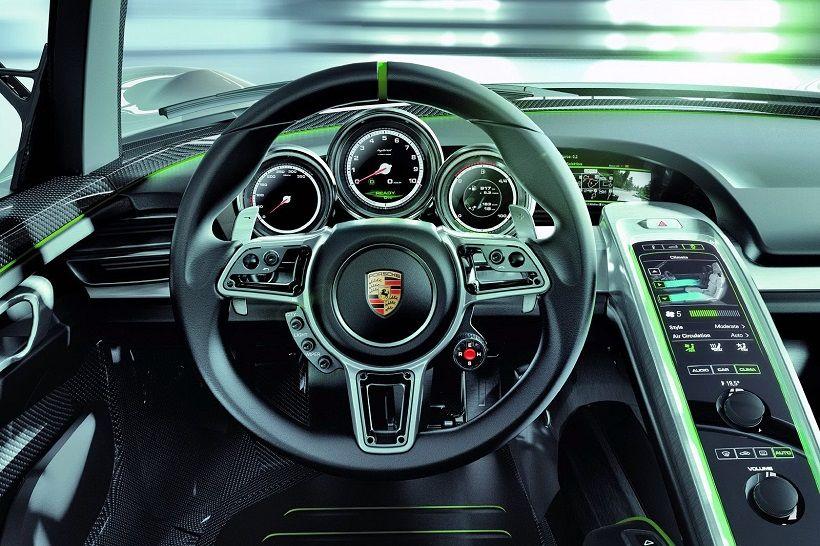 Porsche 918 Spyder 2016, Kuwait