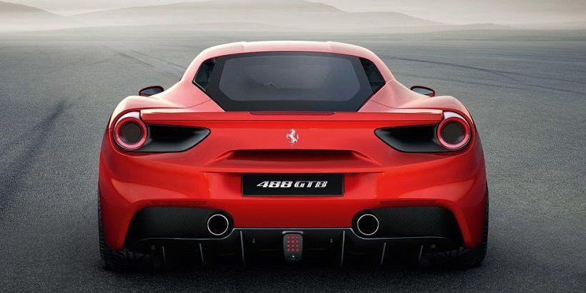 Ferrari 488 2016, United Arab Emirates